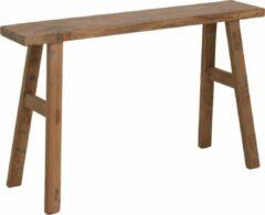 Bruine Raw Materials Carpenter bankje - Krukje - 80x17x50