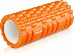 Athletix® - Grid Foam Roller - Trigger point - Yoga - 33cm - Oranje