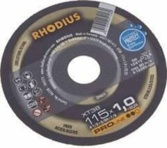 Rhodius FT38 TOP 205602 Doorslijpschijf recht 125 mm 22.23 mm 1 stuks