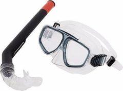 Fashy Snorkelset grijs voor juniors
