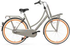28 Zoll Popal Daily Dutch Basic+ 2800 Damen Holland Fahrrad 3 Gang Popal grau-orange
