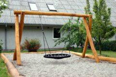 Intergard Nestschommel vogelnestschommel zwart openbare speelplaatsen