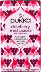 Pukka Org. Teas Elderberry & echinacea 20 Stuks