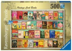 Ravensburger puzzel Vintage kookboeken - legpuzzel - 500 stukjes