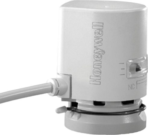 Afbeelding van Honeywell therm servomotor wasgevuld Ultraline MT4, (lxbxh) 57x42x57mm, wit