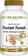 Golden Naturals Prostaat Formule (180 vegetarische capsules)