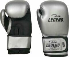 Legend Sports 4-8 jaar Bokshandschoenen kind Zilver/mat zwart 4 oz