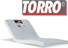 Witte Schön TORRO TORRO | Extra stevige topmatras | Echt harde topper | 8cm dik stevig ligcomfort 180x200cm topper