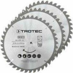 TROTEC Cirkelzaagbladenset voor hout Ø 190 mm (40 tanden), 3-delig