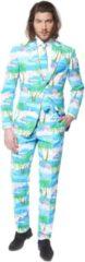 OppoSuits Flaminguy - Mannen Zomer Kostuum - Gekleurd - Carnaval - Maat 62