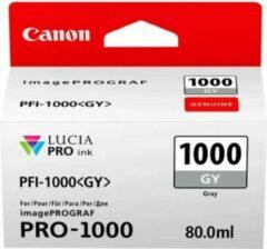 Canon PFI-1000 GY inktcartridge Original Grijs