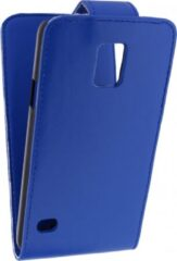 Xccess Flip Case Samsung Galaxy S5/S5 Plus/S5 Neo Blue - Xccess