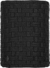 Zwarte Buff Nekwarmer Knitted & Polar - Airon Black - Unisex - Maat One Size
