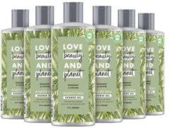 Love Beauty and Planet Rosemary & Vetiver Delightful Detox showergel - 6 x 500 ml