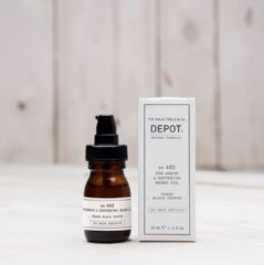 Depot The Male Tools & Co Ulei Pentru Ten Si Barba Depot 400 Shave Specifics No.403 Pre-shave & Softening Fresh Black Pepper, 30ml