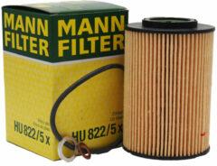 MANN FILTER Oliefilter HU822 / 5X