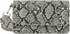 Beige PIECES ELVIRA Cross Body white snake