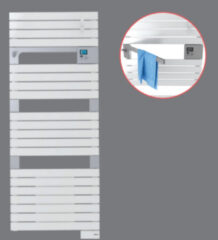 Elektrische Handdoekradiator Sauter Asama Ventilo Van Marcke 750+1000W 141x55cm Wit