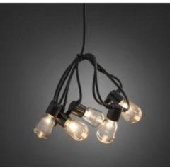 Konstsmide 2386-100 Party-lichtketting Buiten Energielabel: A (A++ - E) werkt op het lichtnet 20 + 40 Gloeilamp, LED Helder Verlichte lengte: 4.75 m