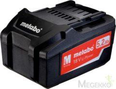 Metabo Li-Power accu-pack 18 V - 5,2 Ah voor elektrisch gereedschap 625592000