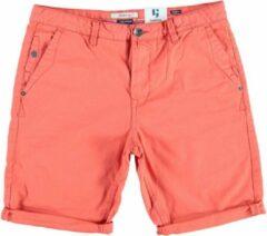 Garcia oranje (dark coral) fine cotton bermuda - Maat XS