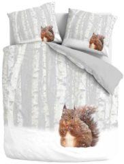 Flanell Eichhörnchen Bettwäsche Milou Traumschlaf braun
