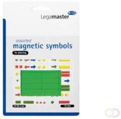 Legamaster Whiteboardmagneten Symbolen 10mm Groen