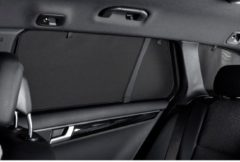 Zwarte Car Shades Carshades Mazda 2 5-deurs 2014- autozonwering