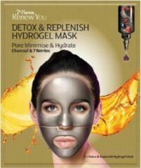 7th Heaven Vernieuw je Detox & Vul Hydrogel Mask vochtinbrengend gelaatsmasker bij om de poriën te minimaliseren 1pcs