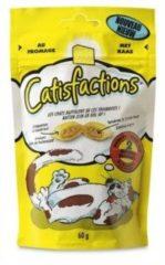 Catisfactions Kattensnoepjes 60 g - Kattensnack - Kaas - Kattenvoer