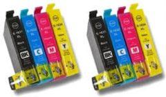Gele Goedkoopprinten ACTIE: Epson T1636 inkt cartridge Multipack (set 8x) - Huismerk
