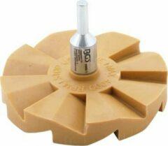 BGS - Folieverwijderaar - Gumschijf - Stickerverwijderaar- speciale lamellenschijf 90mm - BGS3999-1