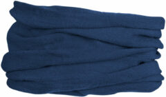 Marineblauwe GripGrab Multifunctional Merino Neck Warmer Nekwarmer Unisex - One Size