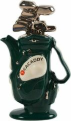 The TeaPottery Ceramic Inspirations Tea Pottery Golf Bag Medium groen Tea Pot
