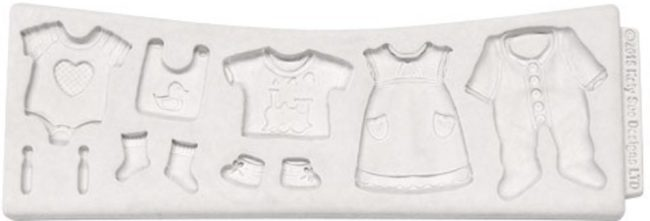 Afbeelding van Witte Katy Sue Mould Baby Clothes Washing Line