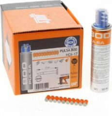 Spittler schietnagel Pulsa 800 HC6, le 17mm, diam 6mm, afwerking gegalv
