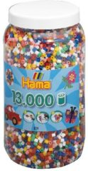 Hama beads Hama strijkkralen in pot - 13000-delig