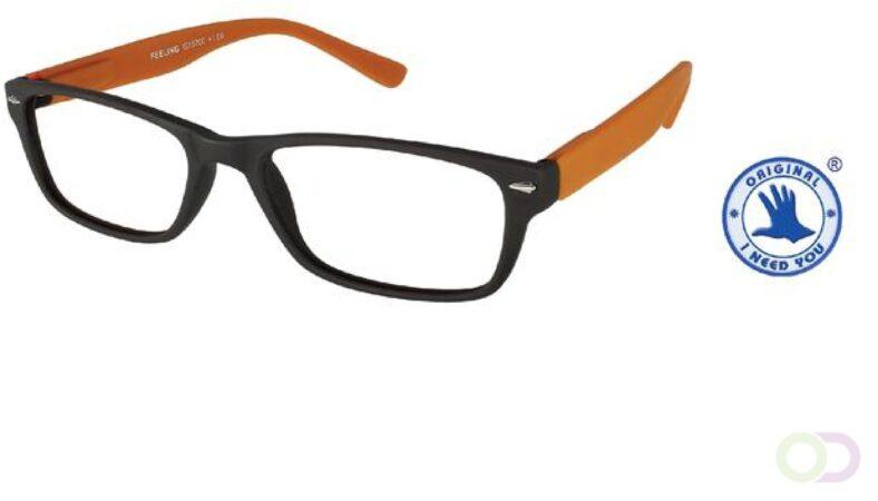 Afbeelding van Office Leesbril +3.00 Feeling bruin-oranje