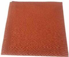 Redhart Servetten HARCO - Oranje Bruin - Katoen / Polyester - 40 x 40 cm - Set van 4
