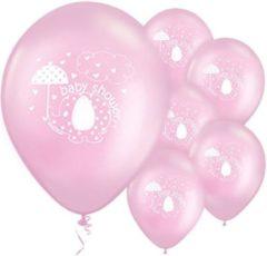 Delights Direct Ballonnen Baby Shower Olifantje Roze - 8 stuks