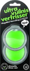 Zwarte Think! Think MegaBini Buiten Geurverwijderaar Navulling Set van 2 - Citrus Blast