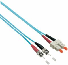 EFB Elektronik O7353.0,5 Glasvezel Aansluitkabel [1x SC-stekker - 1x ST-stekker] 50/125 µ Multimode OM3 0.50 m