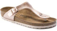 """Roze Slippers Birkenstock Gizeh BS """"Electric Metallic Copper"""""""