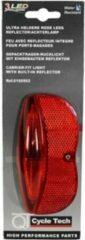 Cycle Tech Achterlicht Batterij In Blisterverpakking Led Zwart/rood
