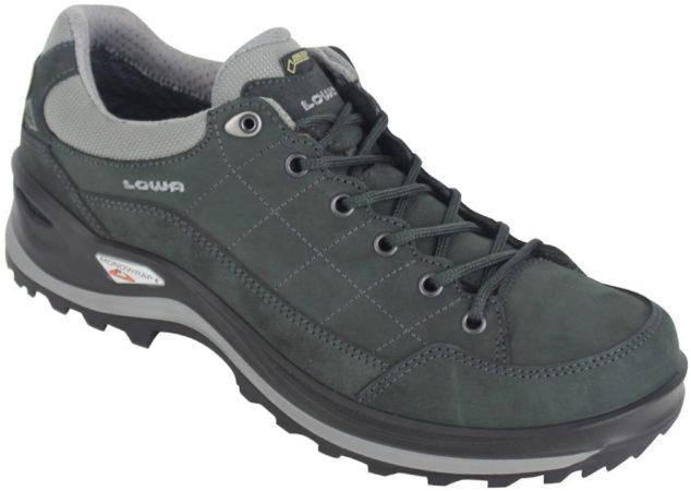 Afbeelding van Zwarte Lowa Renegade III GTX LO wandelschoenen heren antraciet