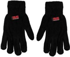 Heat Keeper Chenille dames thermo handschoenen zwart - One size