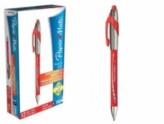 Penna Flexgrip Elite Rossa 12 pezzi Paper Mate