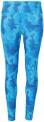Women's TriDri® performance Hexoflage® legging, Kleur Camo Sapphire, Maat XS