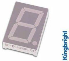1-DIGIT DISPLAY 45mm GEMEENSCHAPPELIJKE ANODE GROEN (SA18-11GWA)