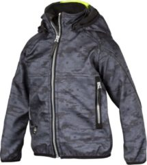 Grijze Snickers workwear Junior Softshell Jack maat 110/116